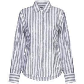 《セール開催中》CAMICETTASNOB レディース シャツ 鉛色 42 リネン 100%