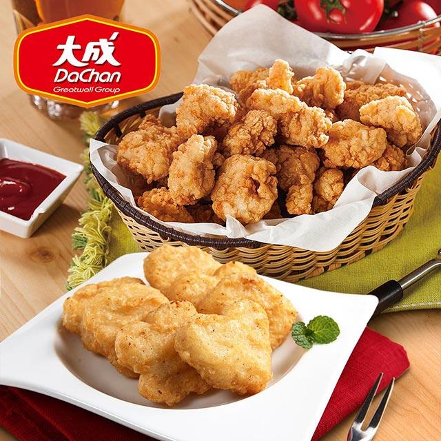 【買2送2《共4包》】大成香脆雞+招牌優質雞塊(1kg/包)