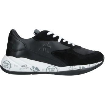 《セール開催中》PREMIATA レディース スニーカー&テニスシューズ(ローカット) ブラック 36 革 / 紡績繊維