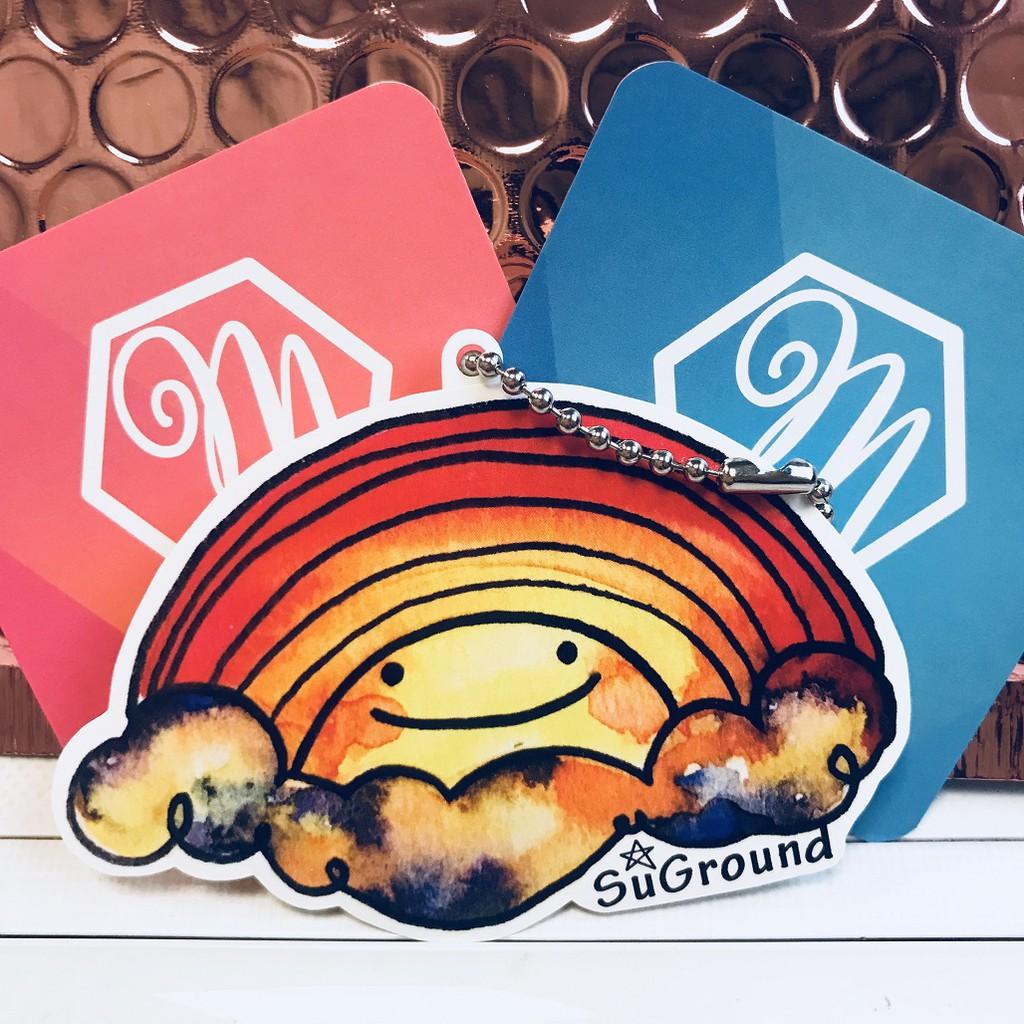 悠遊伴旅 - SuGround 聯名系列 - 彩虹雲朵造型悠遊卡 一卡通 iCash2.0 禮贈品 生日禮物 情人 聖誕