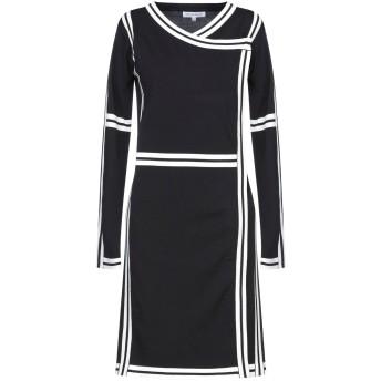 《セール開催中》SILVIAN HEACH レディース ミニワンピース&ドレス ブラック XS レーヨン 65% / ナイロン 35%