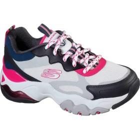 [スケッチャーズ] シューズ スニーカー D'Lites 3.0 Air Fantastic Vision Sneaker White/Blac レディース [並行輸入品]