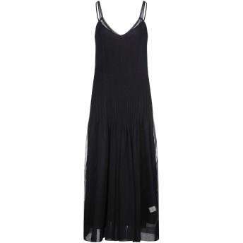 《セール開催中》JUCCA レディース ロングワンピース&ドレス ブラック XS ポリエステル 100%
