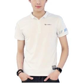 Heaven Days(ヘブンデイズ) ポロシャツ ゴルフシャツ Tシャツ 半袖 カットソー ワンポイント ツートンカラー ライン メンズ 1808K0049