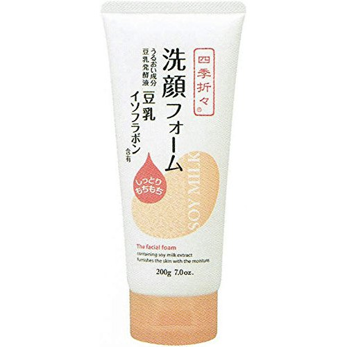 日本豆乳保濕洗面乳-200g