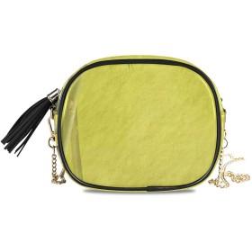 KAPANOU レディース チェーンバッグ,竹の枝木材気候ハーブ自然に触発されたクラシック,ミニファッションかわいいデザインショルダーバッグパーソナライズされたカスタムの異なるスタイルの色