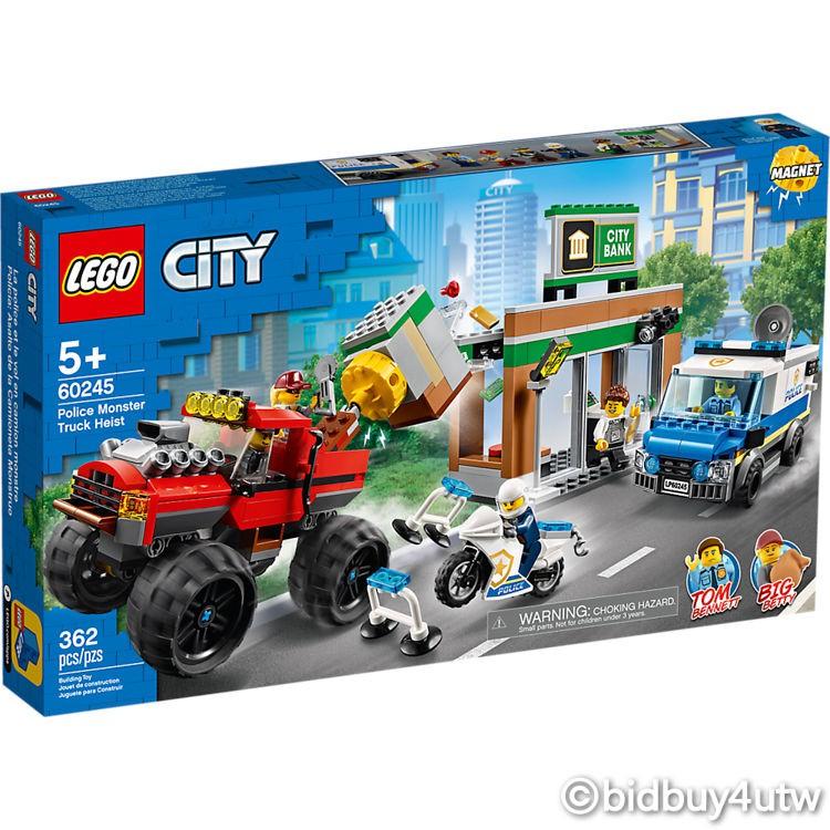 LEGO 60245 警察巨輪卡車搶案 城鎮系列 【必買站】樂高盒組