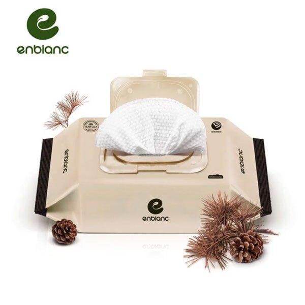 韓國 Enblanc 極柔純水有蓋大包濕紙巾-松針萃取物72抽