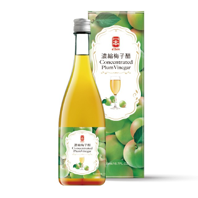 【一本】濃縮梅子醋(濃縮500ml,一瓶喝久久,CP值超高)