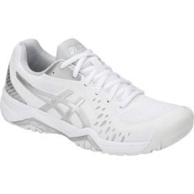 [アシックス] シューズ スニーカー GEL-Challenger 12 Court Shoe White/Silv レディース [並行輸入品]