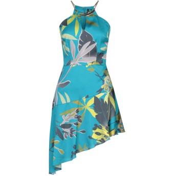 《セール開催中》MARCIANO レディース ミニワンピース&ドレス ターコイズブルー XS ポリエステル 100%