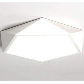 LEDシーリングライトシーリングライト屋内埋め込み式シーリングライト、120W相当、白昼5000K、寝室のバスルームキッチン廊下オフィス階段レストランで使用
