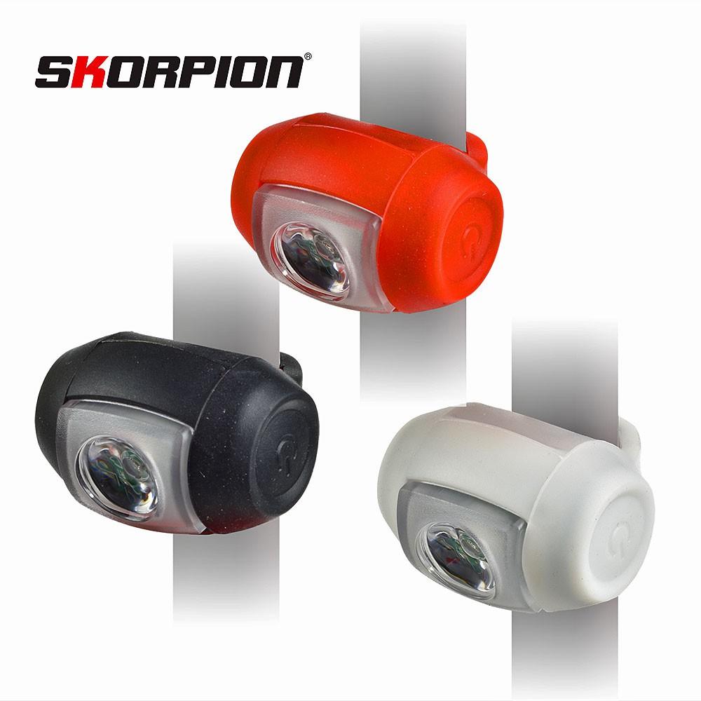 SKORPION 自行車尾燈 自行車警示燈 (USB充電)