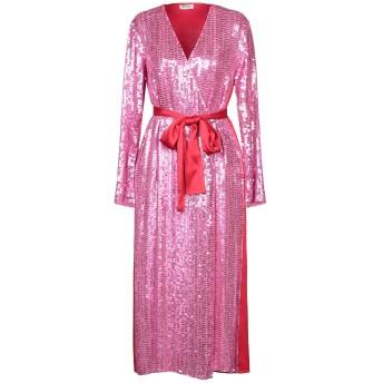 《セール開催中》THE ATTICO レディース 7分丈ワンピース・ドレス フューシャ 40 レーヨン 100% / アセテート / ポリ塩化ビニル
