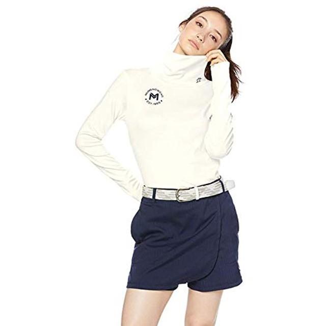 マンシングウェア Munsingwear 長袖シャツ・ポロシャツ ストレッチ 吸湿発熱ハイネック長袖シャツ レディス ホワイト 00 3L
