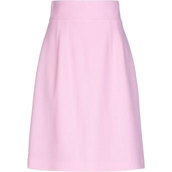 《セール開催中》DOLCE & GABBANA レディース ひざ丈スカート ピンク 42 ウール 100%
