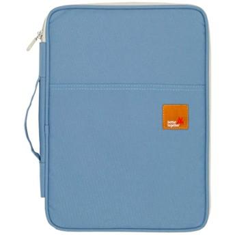 Mygreen(マイグリーン)ドキュメントバッグ タブレット 収納ケース A4 撥水加工 MG16600LB(ライトブルー)