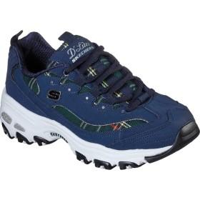 [スケッチャーズ] シューズ スニーカー D'Lites Mountain Alps Sneaker Navy/Green レディース [並行輸入品]