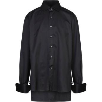 《セール開催中》ALESSANDRO GHERARDI メンズ シャツ ブラック 47 コットン 100%