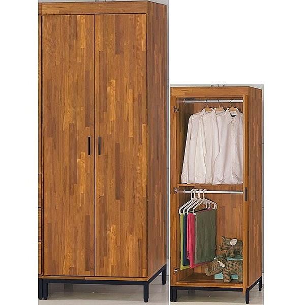 衣櫃 衣櫥 BT-8-1 工業風雙吊衣櫥【大眾家居舘】