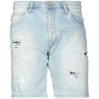 《セール開催中》VERSACE JEANS メンズ デニムバミューダパンツ ブルー 32 コットン 98% / ポリウレタン 2%