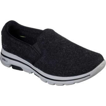 [スケッチャーズ] シューズ スリッポン・ローファー Wash-A-Wool GOwalk 5 Flint Slip-On Black メンズ [並行輸入品]