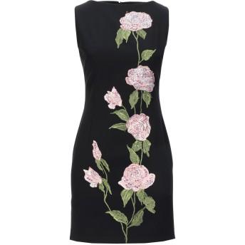 《セール開催中》MANUEL DEL REI レディース ミニワンピース&ドレス ブラック 40 ポリエステル 100%
