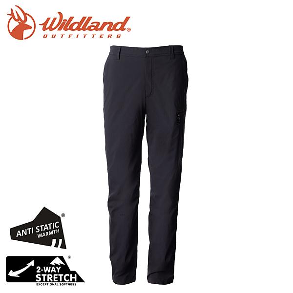 Wildland 荒野 0A72322-54黑色 男防潑防風天鵝絨長褲