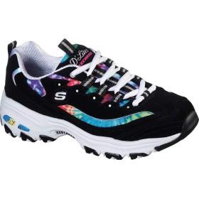 [スケッチャーズ] シューズ スニーカー D'Lites Summer Fiesta Sneaker Black/Mult レディース [並行輸入品]