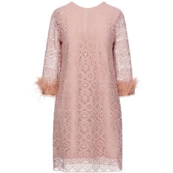 《セール開催中》DIXIE レディース ミニワンピース&ドレス ローズピンク S ポリエステル 100%