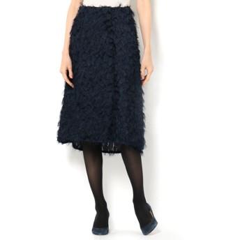 【エリオポール/HELIOPOLE】 カットジャガードAラインスカート