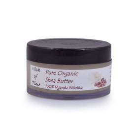 Nick of Time Organic Shea Butter Pure Unrefined Grade A (50gm)