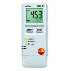 テストー 輸送用USB温湿度データロガーtesto 184 H1 ディスプレイ付