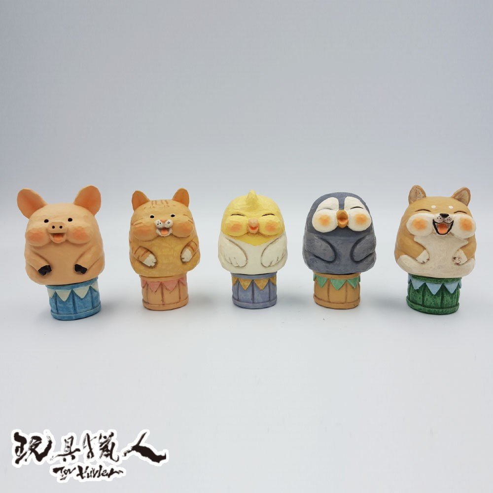 【現貨】 想作室木雕動物 x 夥伴玩具 Partner Toys 動物果實