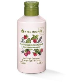 Yves Rocher Energizing Body Lotion, Raspberry Peppermint, 200ml