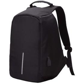 旅行バックパックハイキングリュックサック 大容量の盗難防止バックパック14インチ15.6インチのオスとメスのノートブックバッグコンピューターバッグ カジュアルデイパック (Color : Black, Size : 15.6 inches)