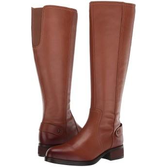 [スティーブマデン] シューズ ブーツ・レインブーツ Jax Riding Boot - Wide Shaft Cognac Lea レディース [並行輸入品]