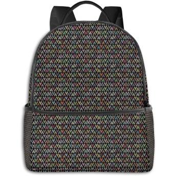 バックパック メンズ レディース ビジネス おしゃれ 高校生 通勤 大容量 多機能 盗難防止 防水 通学 旅行鞄 幾何学的な126