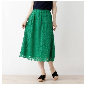 【グローブ/grove】 レースAラインスカート