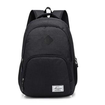 バッグパック 旅行 キャンプ ビジネス トラベルノートパソコンのバックパック、防水スクールバックパック、プロフェッショナルビジネスバックパックバッグUSBポートは充電して 登山リュック (Color : Black)