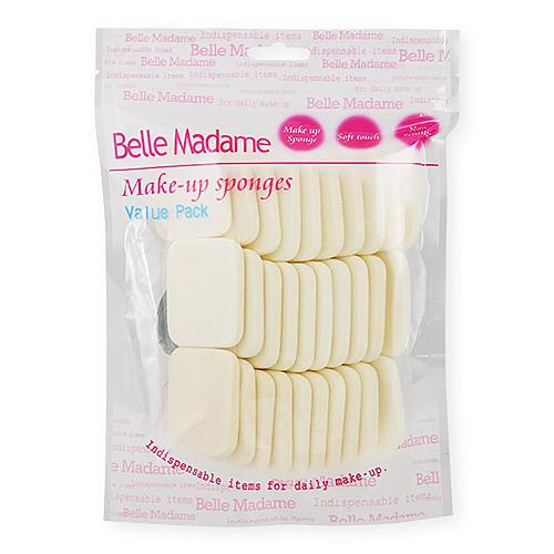 Belle Madame 貝麗瑪丹 N416 水粉兩用粉撲 30入【BG Shop】化妝海綿