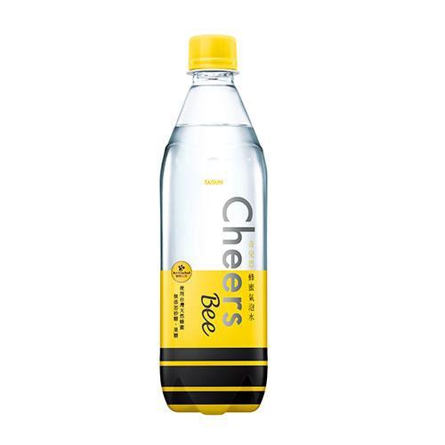 CHEERS蜂蜜氣泡水590ml*4【愛買】