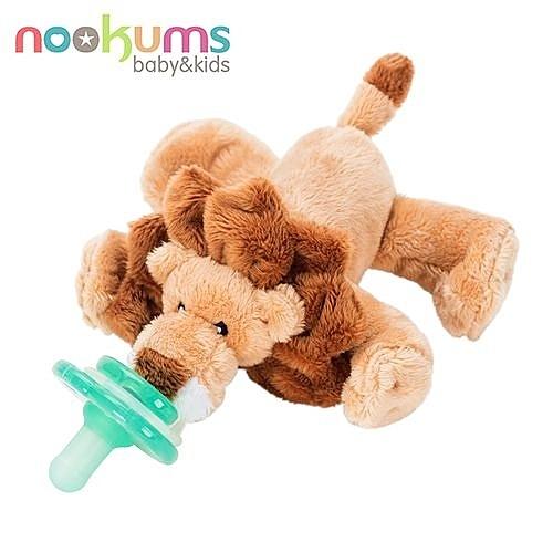 nookums 美國 寶寶可愛造型安撫奶嘴 獅子