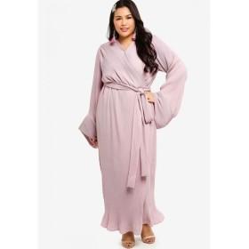 ルブナ Lubna レディース ワンピース ワンピース・ドレス Pleated Wrap Dress Lilac