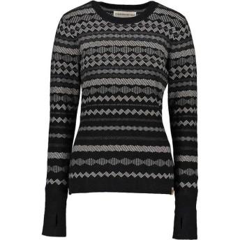 オバマイヤー Obermeyer レディース ニット・セーター トップス obermyer reece ski sweater Black