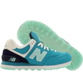 ニューバランス New Balance レディース スニーカー シューズ・靴 574 Glacial teal / navy