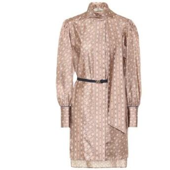 フェンディ Fendi レディース ワンピース ワンピース・ドレス printed silk minidress Liberty