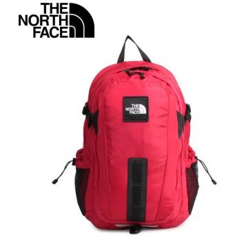 THE NORTH FACE ノースフェイス ホットショット リュック バッグ バックパック メンズ レディース 30L HOT SHOT SE レッド NF0A3KYJ