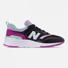 ニューバランス NEW BALANCE レディース スニーカー シューズ・靴 New Balance 997 Casual Shoes Black/Pink