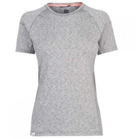 カリマー Karrimor レディース Tシャツ トップス Ridge T Shirt Grey Ice Marl